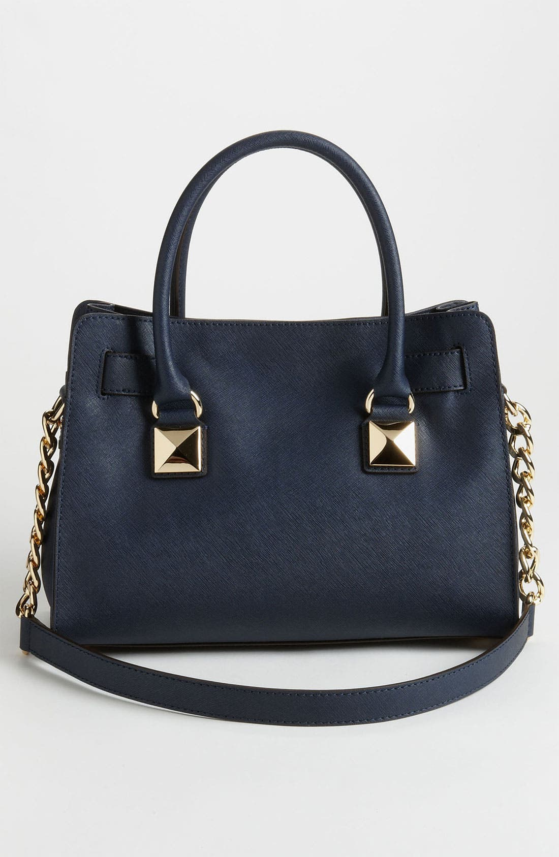 Alternate Image 4  - MICHAEL Michael Kors 'Hamilton' Studded Leather Satchel
