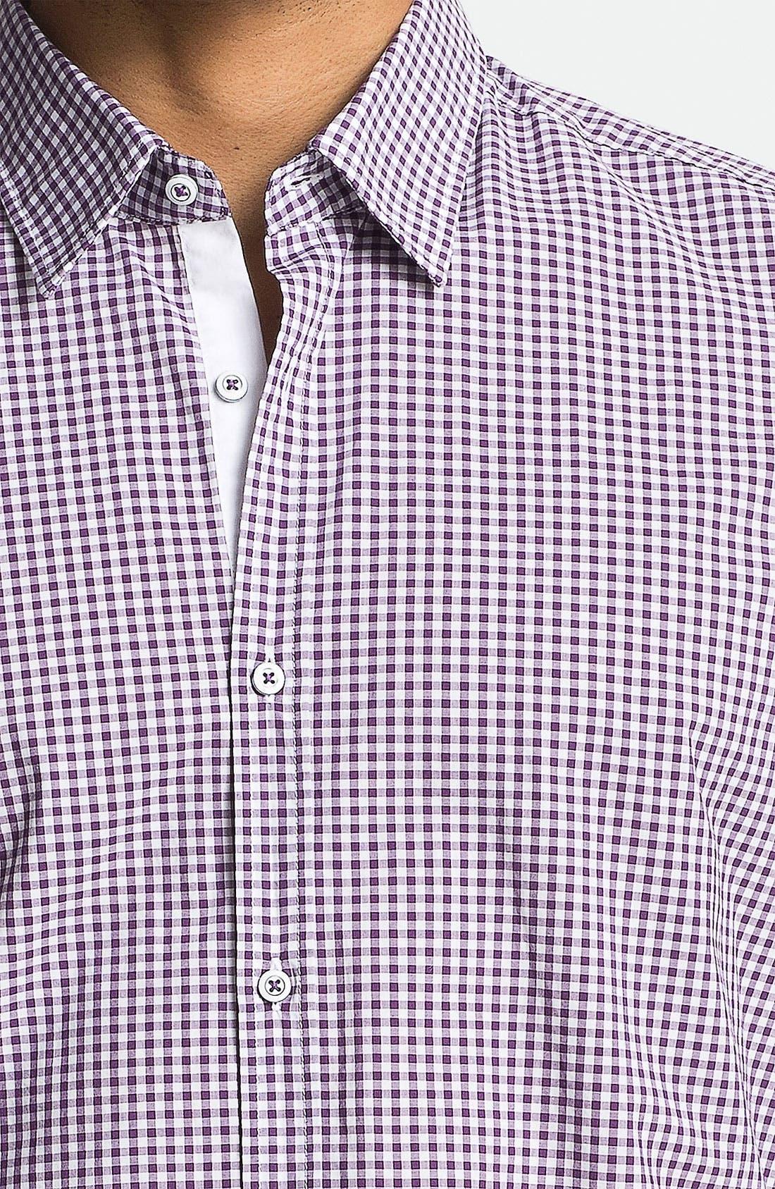 Alternate Image 3  - BOSS HUGO BOSS 'Obert' Regular Fit Sport Shirt