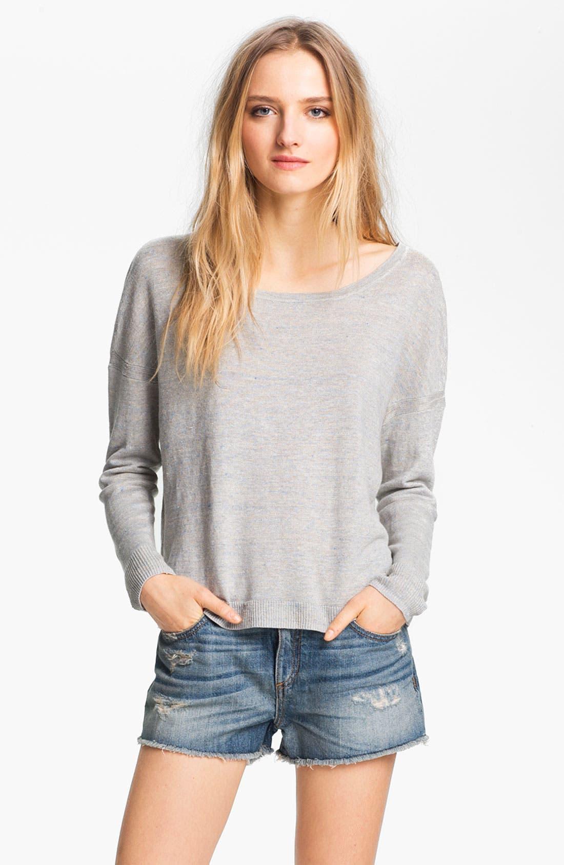 Alternate Image 2  - rag & bone 'Sander' Linen Pullover