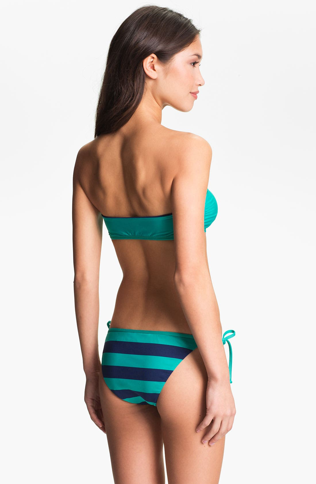 Alternate Image 5  - Splendid 'Marcel' Stripe Side Tie Bikini Bottoms