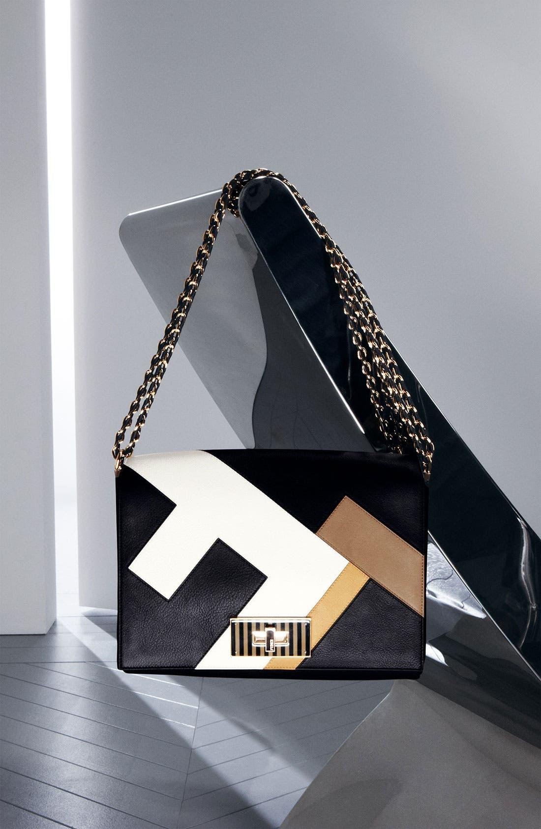 Alternate Image 5  - Fendi 'Claudia 3D' Leather Shoulder Bag