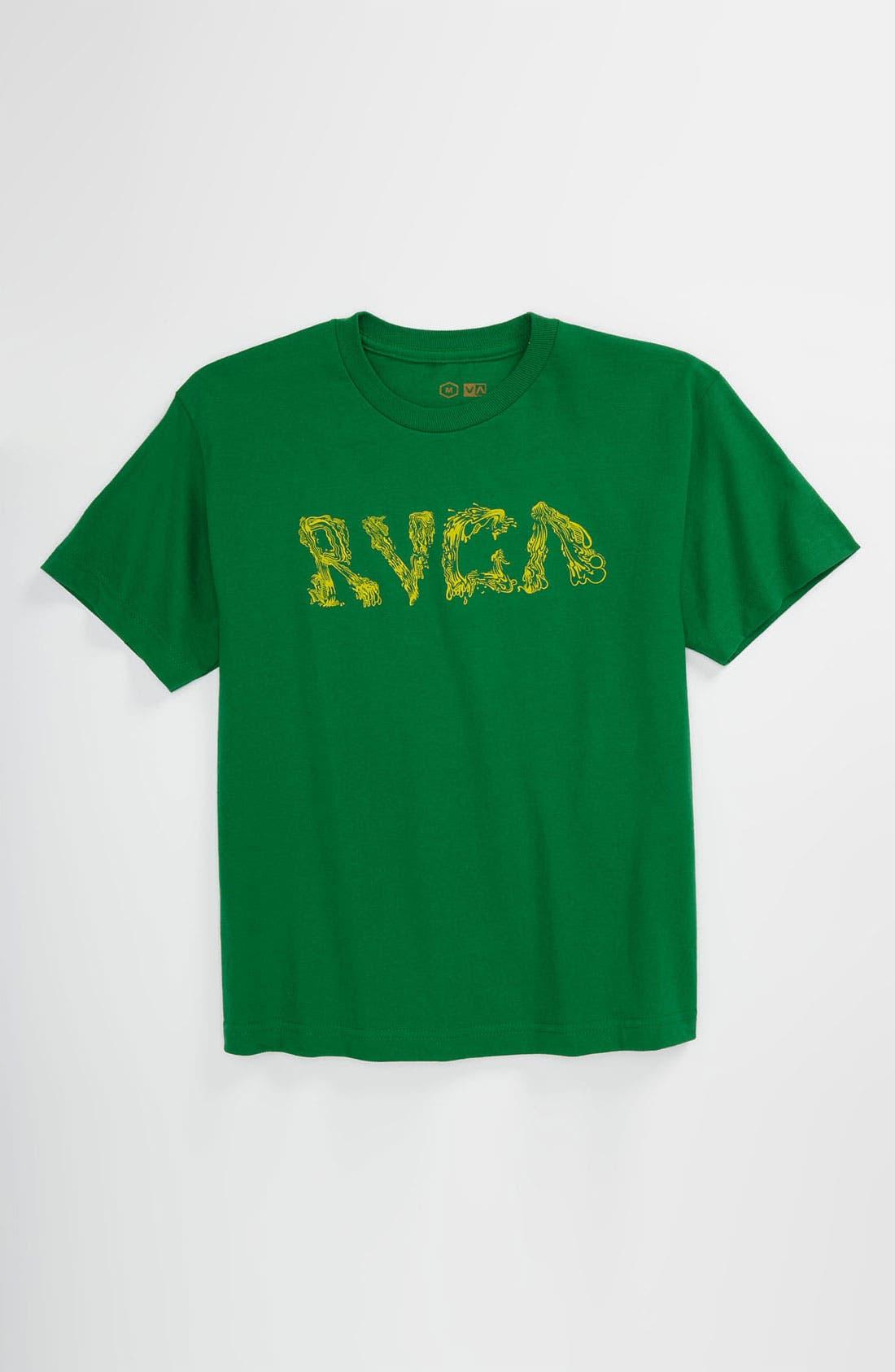 Alternate Image 1 Selected - RVCA 'Goo' T-Shirt (Big Boys)