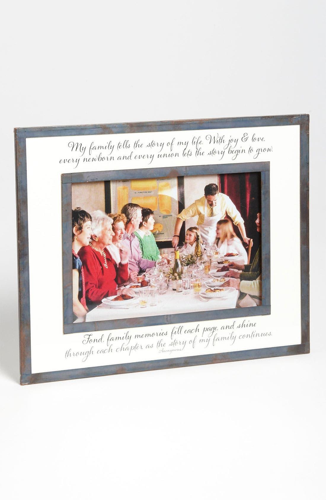 Alternate Image 1 Selected - Ben's Garden 'Family Tells The Story' Picture Frame