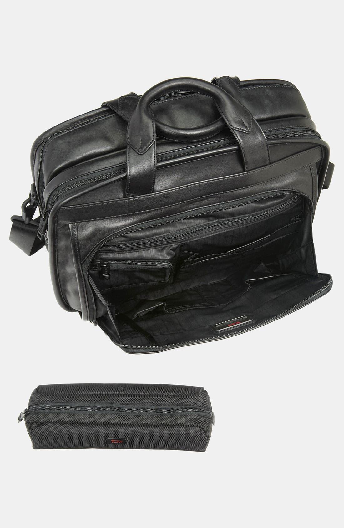Alternate Image 4  - Tumi 'Alpha' Leather Organizer Briefcase