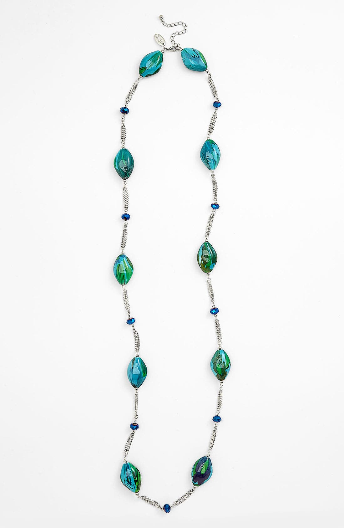 Alternate Image 1 Selected - Cara Beaded Station Necklace