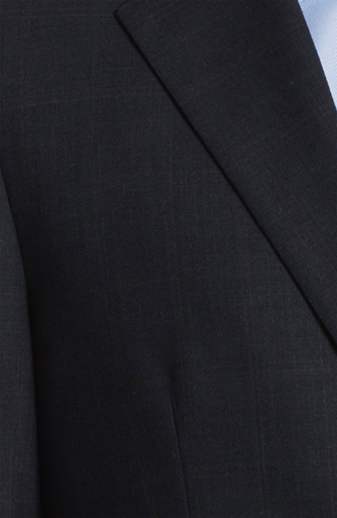 Alternate Image 2  - Joseph Abboud Windowpane Wool Suit