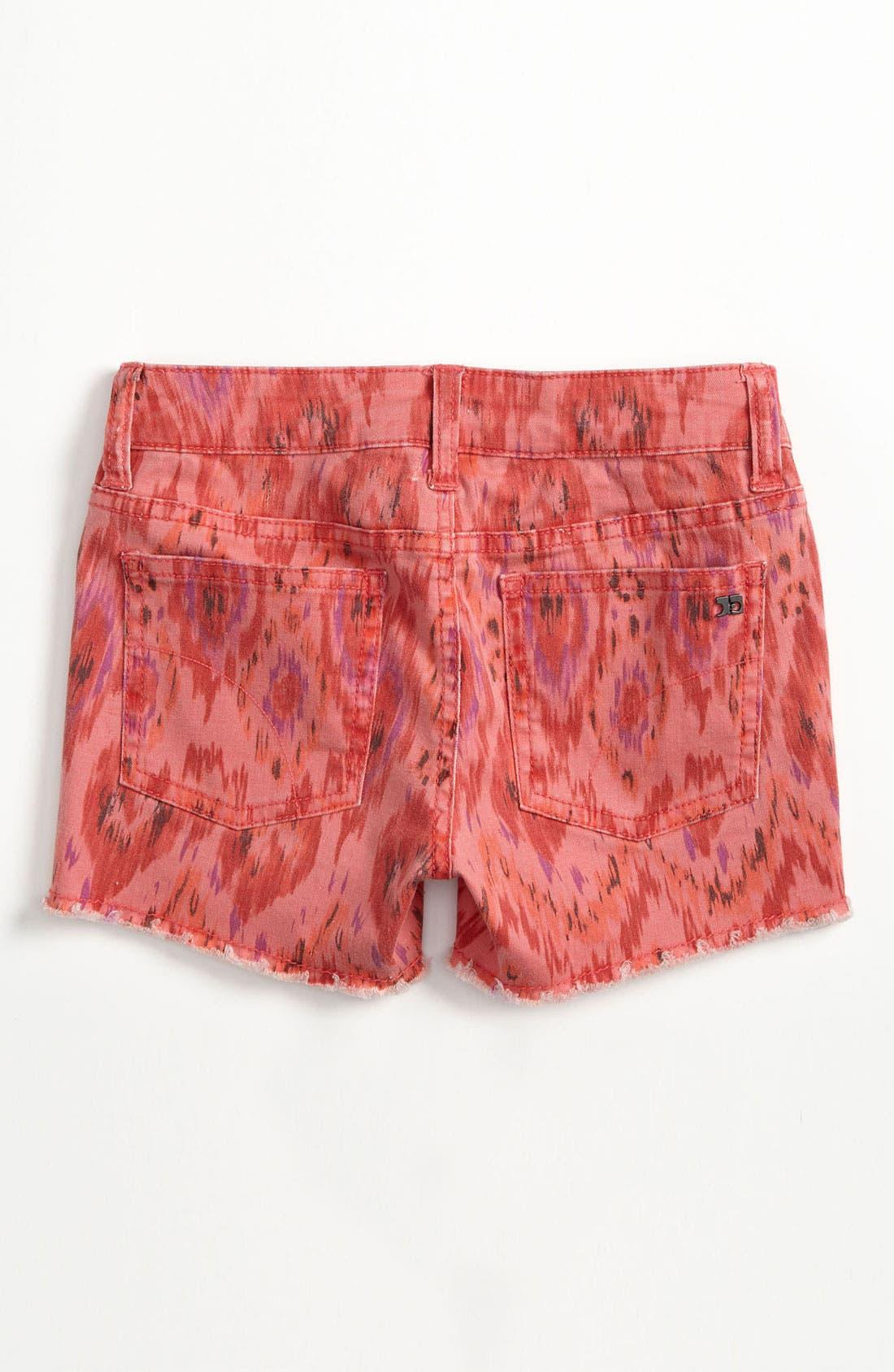Alternate Image 1 Selected - Joe's Print Shorts (Big Girls)