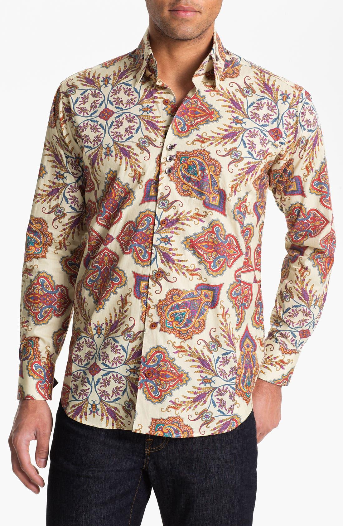 Alternate Image 1 Selected - Bogosse 'Clau 67' Regular Fit Sport Shirt
