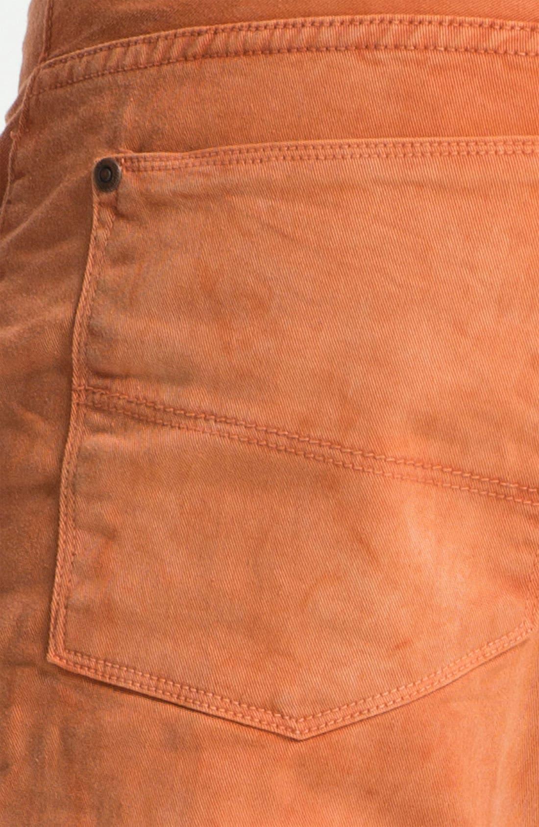 Alternate Image 4  - Gilded Age 'Morrison' Slim Fit Jeans (Apricot)