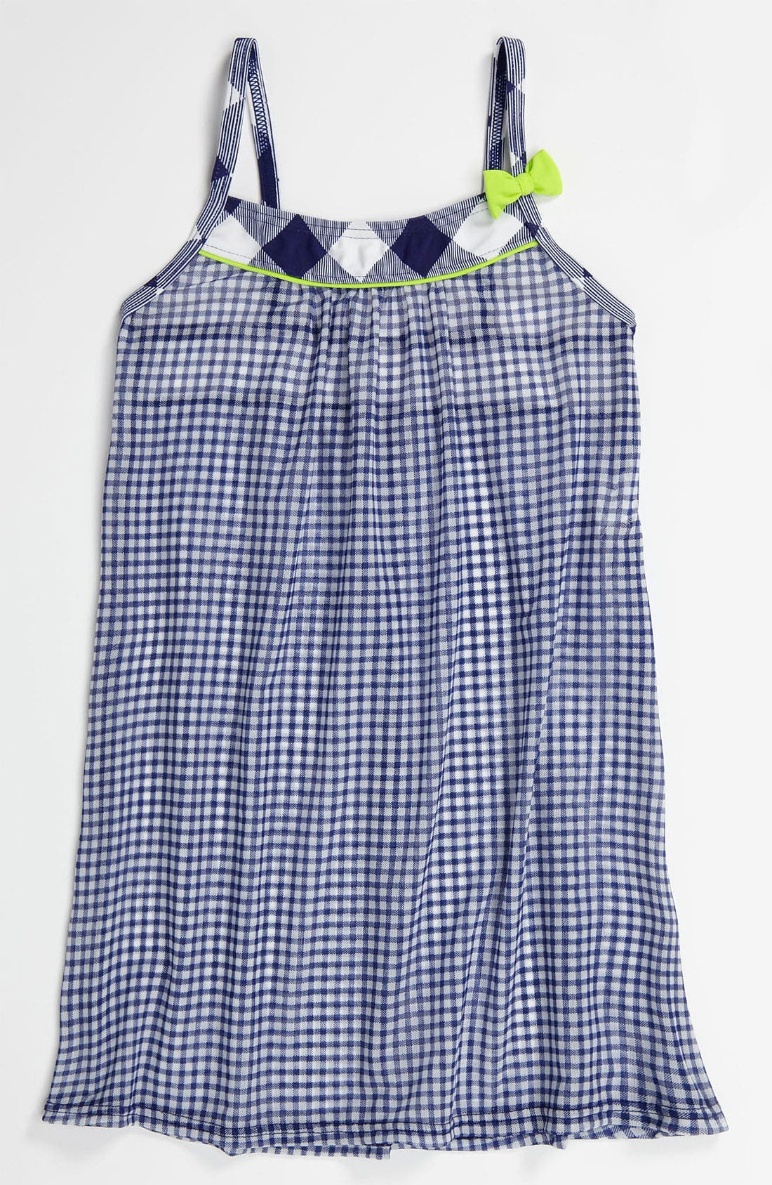 Alternate Image 1 Selected - Hula Star Gingham Cover-Up (Little Girls)
