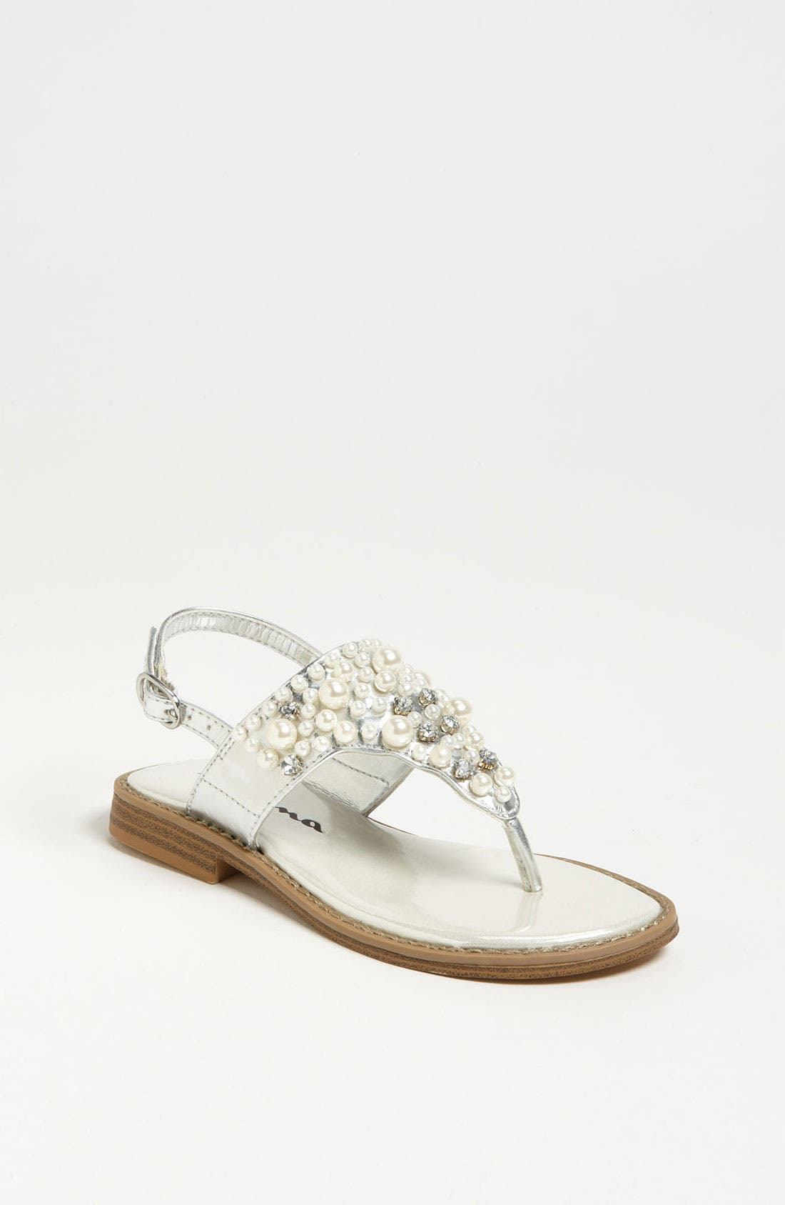Alternate Image 1 Selected - Nina 'Prissy' Sandal (Walker, Toddler, Little Kid & Big Kid)