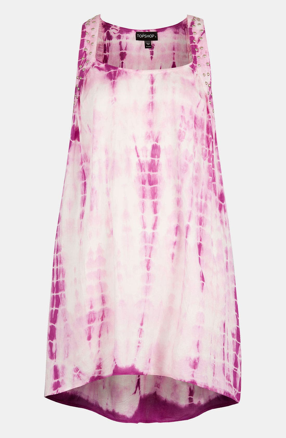 Main Image - Topshop Tie Dye Cover-Up