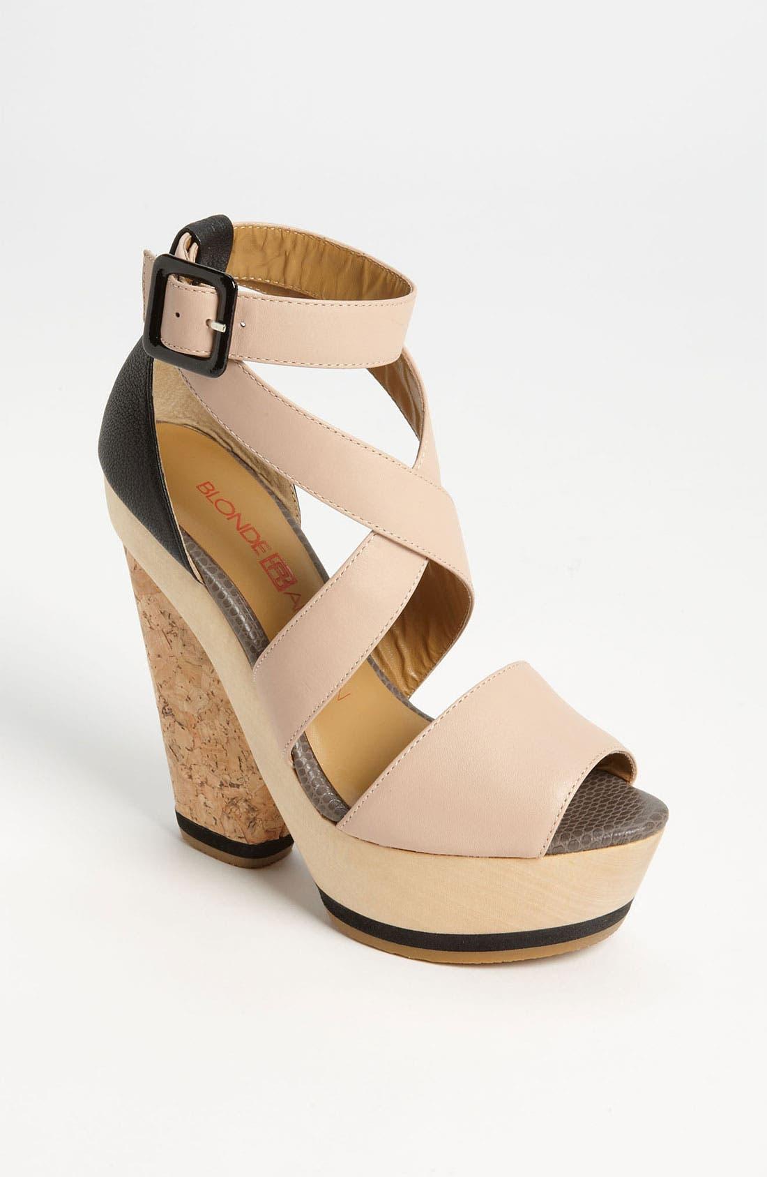 Main Image - Blonde Ambition 'Naya' Sandal
