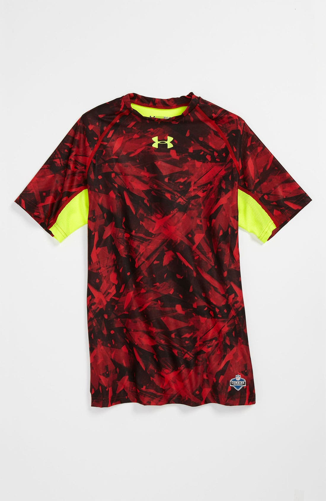 Alternate Image 1 Selected - Under Armour 'NFL Combine' T-Shirt (Big Boys)