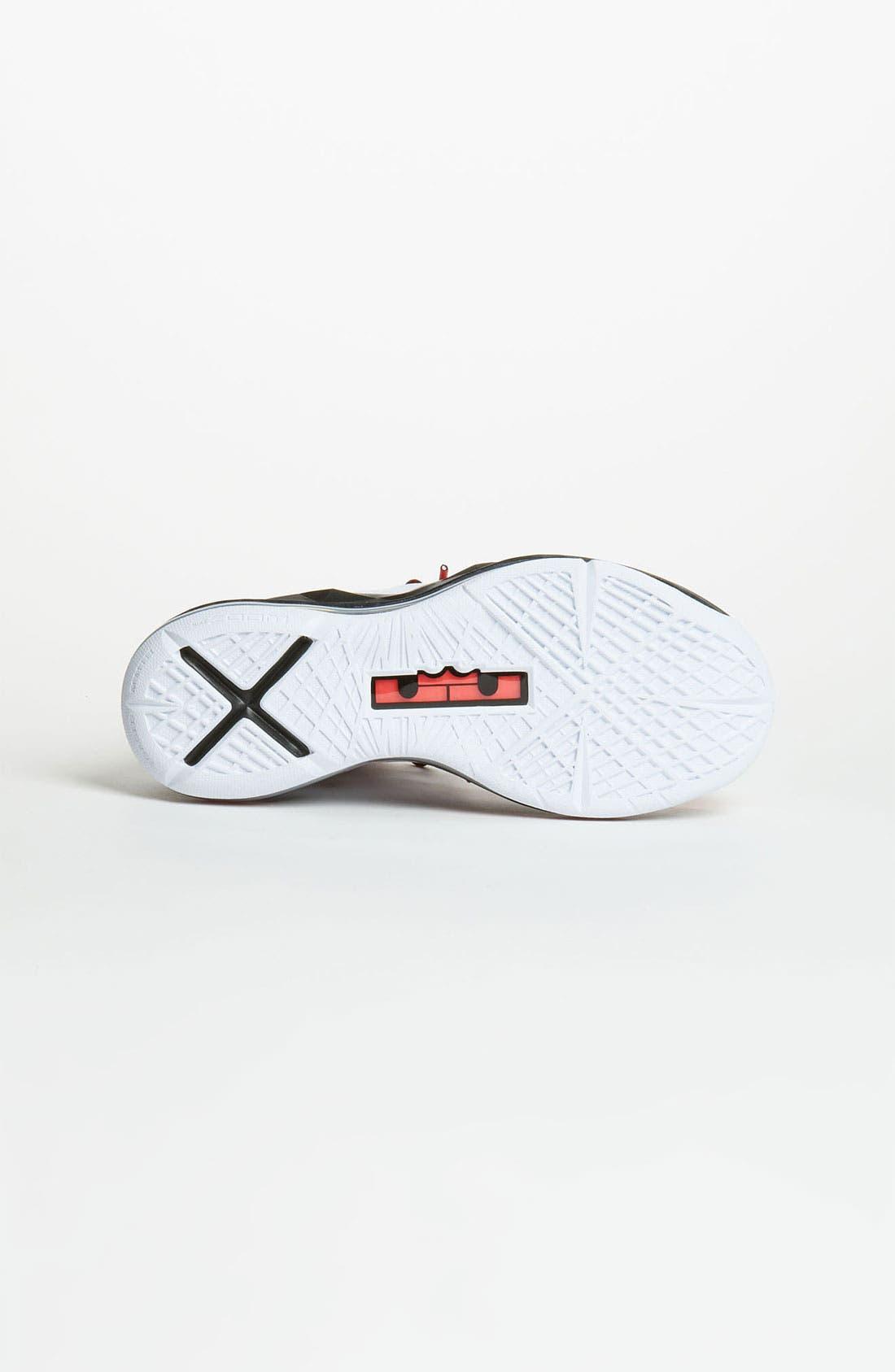 Alternate Image 4  - Nike 'LeBron 10 Pressure' Basketball Shoe (Big Kid)