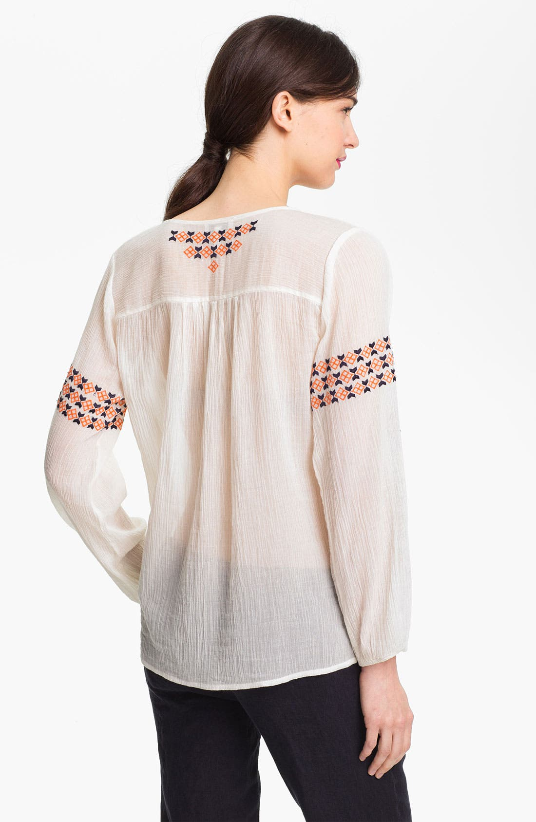 Alternate Image 2  - Joie 'Nira' Embroidered Peasant Top