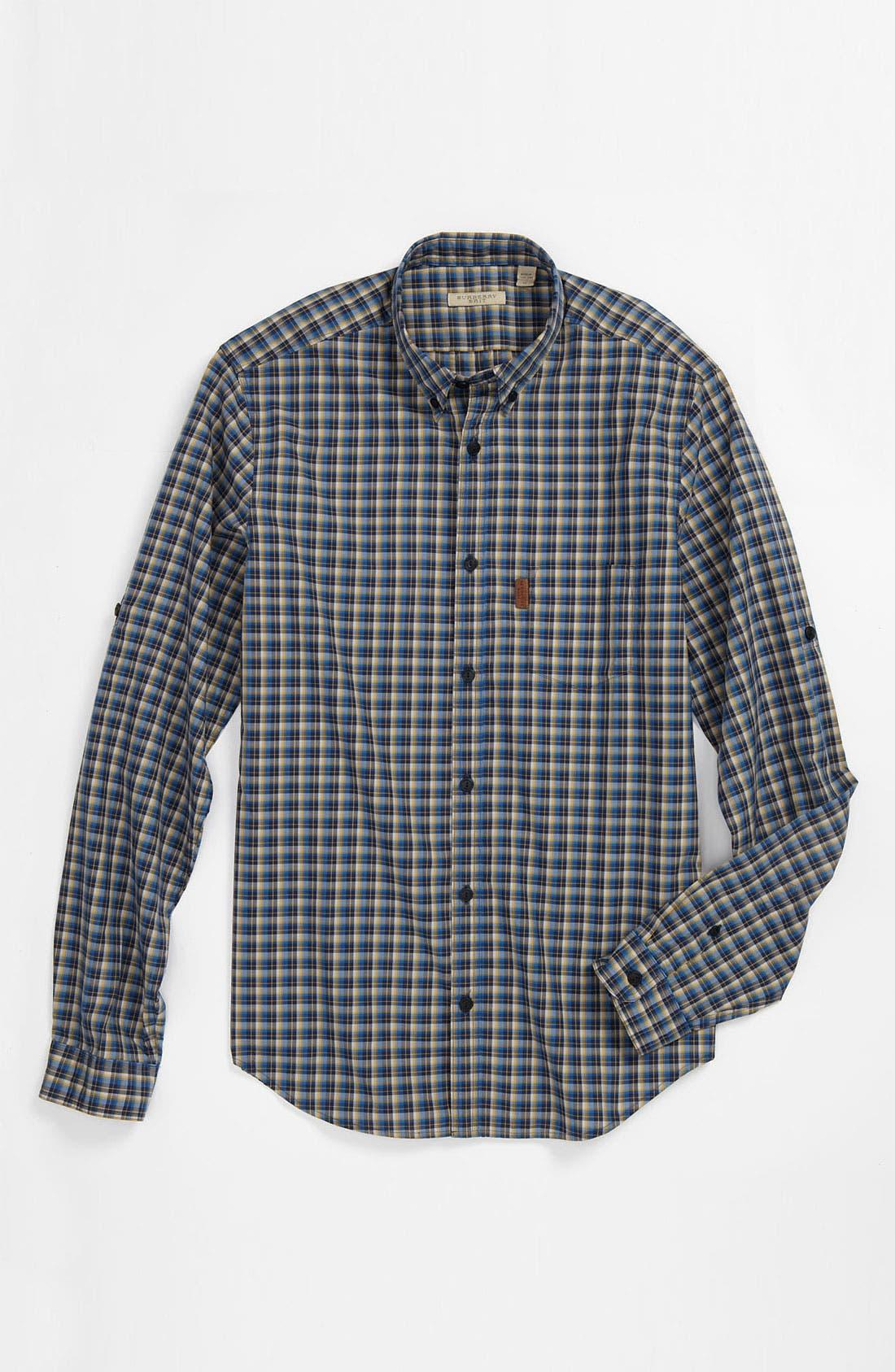 Alternate Image 4  - Burberry Brit 'Adken' Plaid Sport Shirt