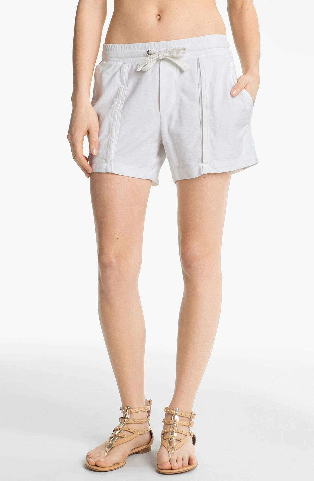 Alternate Image 1 Selected - James Perse Pleated Surplus Shorts