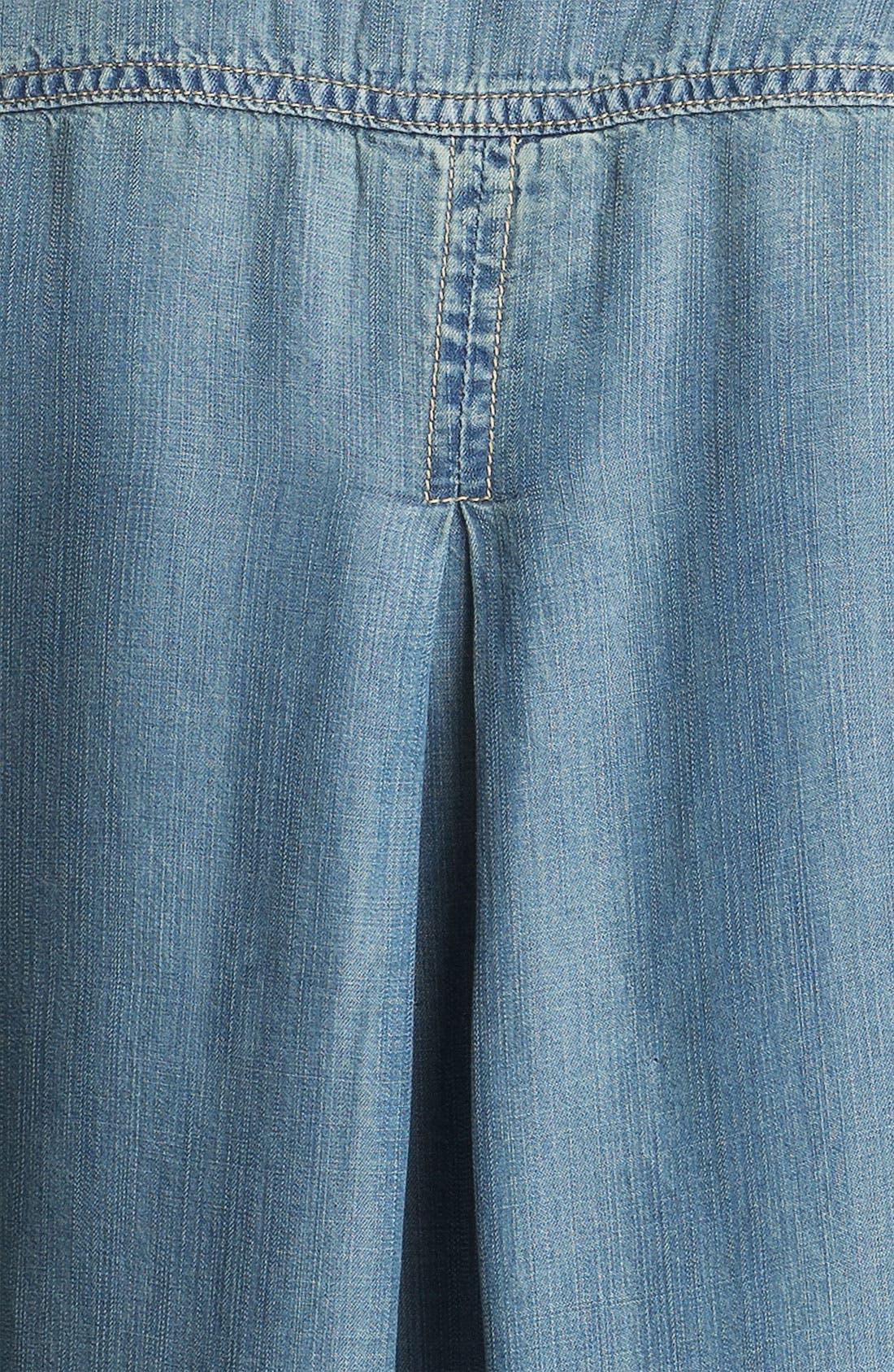 Alternate Image 3  - Side Stitch Chambray Shirt