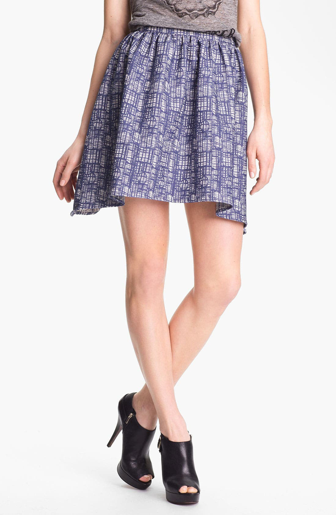 Alternate Image 1 Selected - Man Repeller X PJK 'Wendy' Jacquard Skirt
