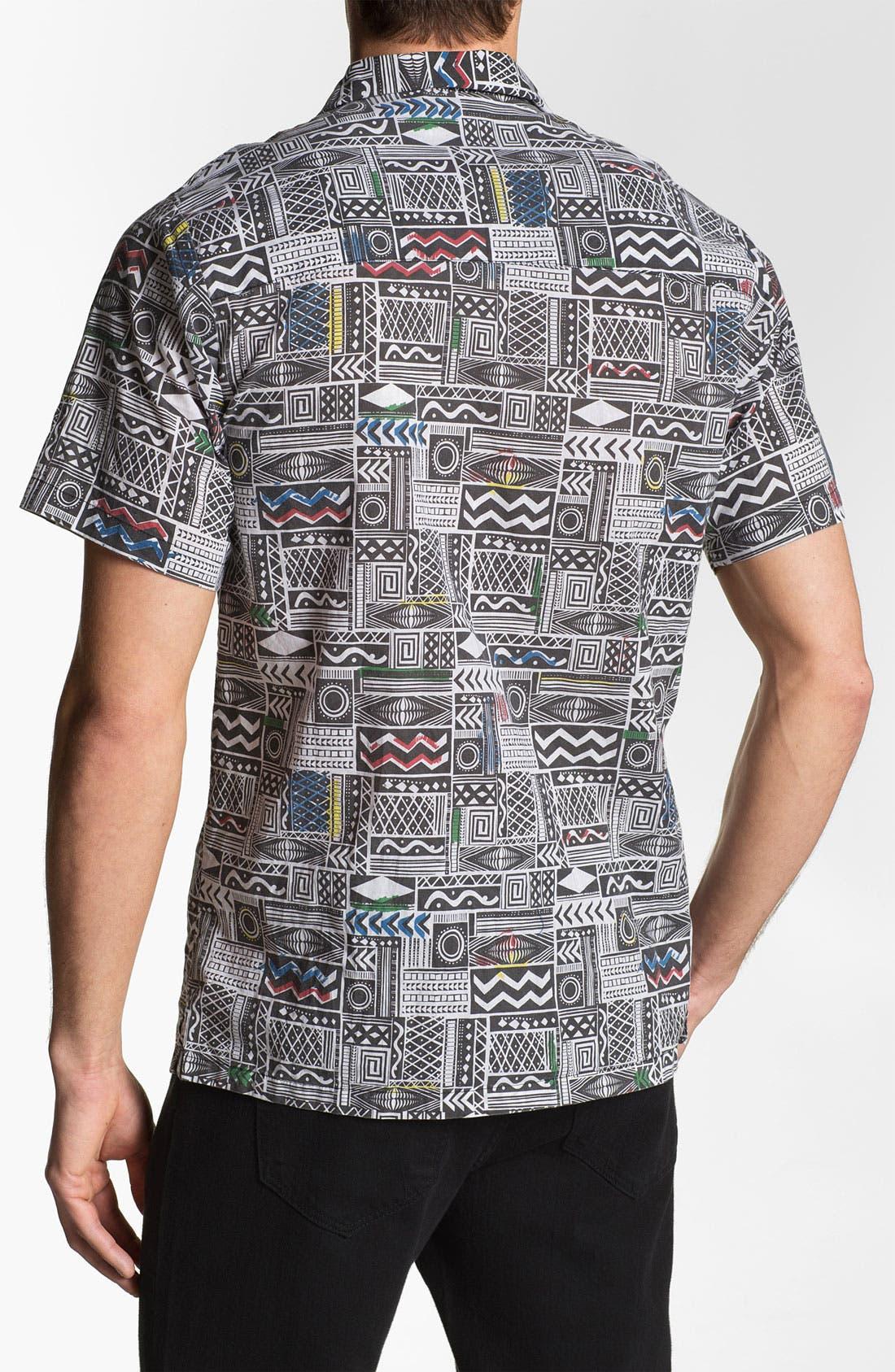 Alternate Image 3  - Vanguard 'Sonic Jungle' Print Woven Shirt