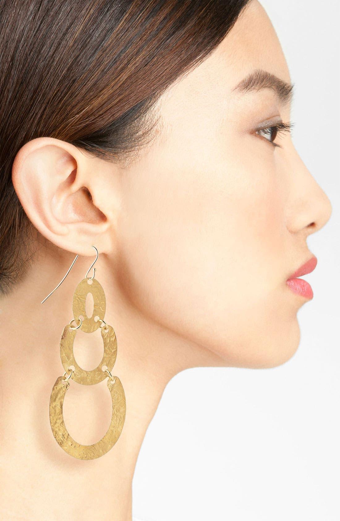 Alternate Image 2  - Argento Vivo Drop Earrings