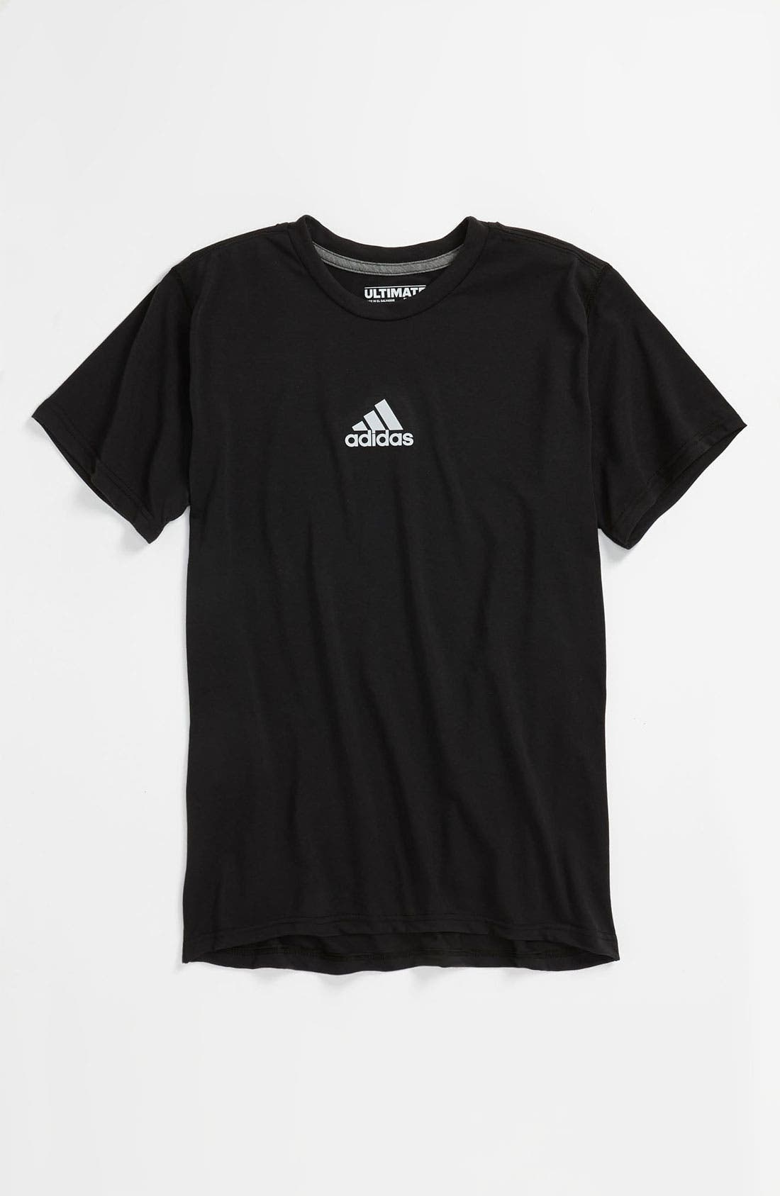 Alternate Image 1 Selected - adidas 'Ultimate' T-Shirt (Big Boys)