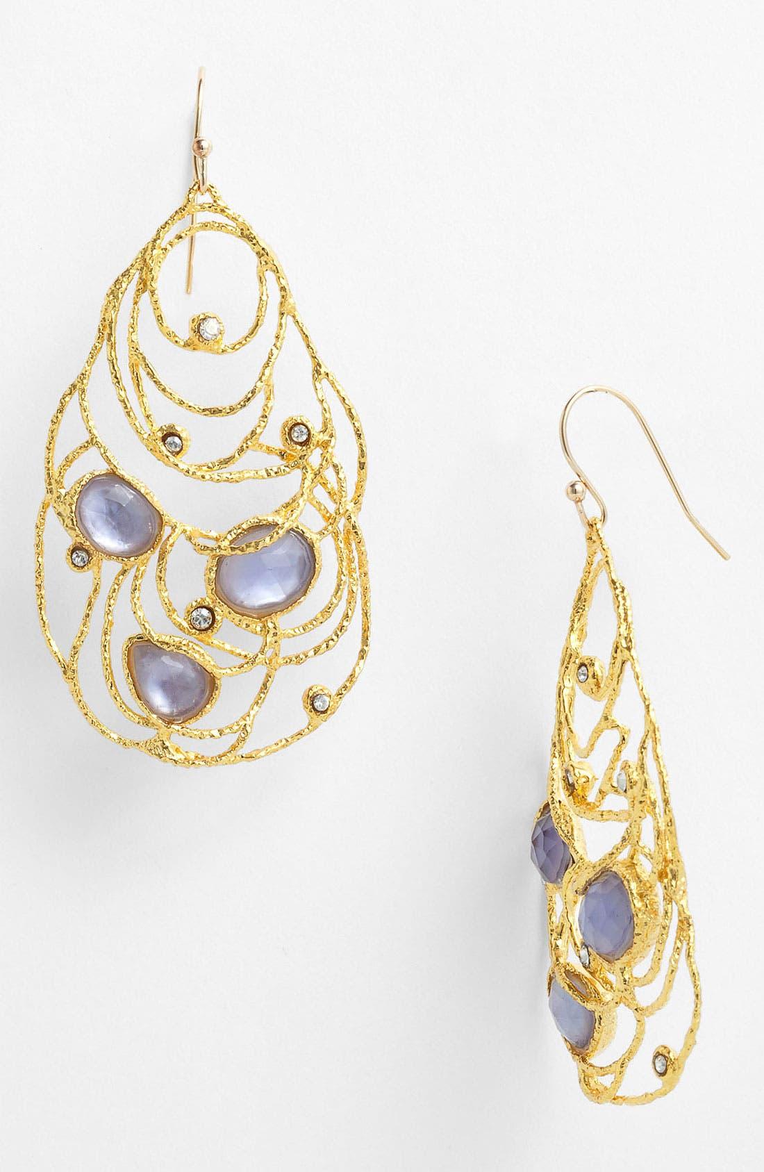 Alternate Image 1 Selected - Alexis Bittar 'Elements - Mauritius' Open Drop Earrings