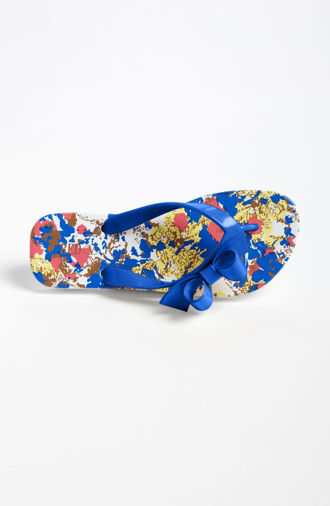Alternate Image 3  - RED Valentino Bow Flip Flop
