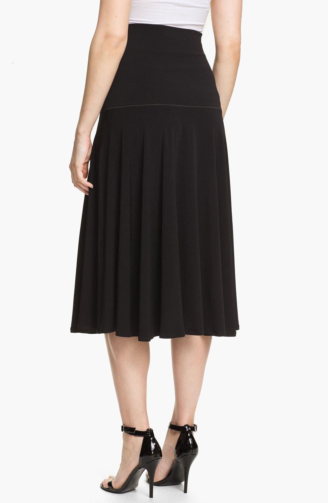 Alternate Image 2  - Eva Varro Paneled Midi Skirt