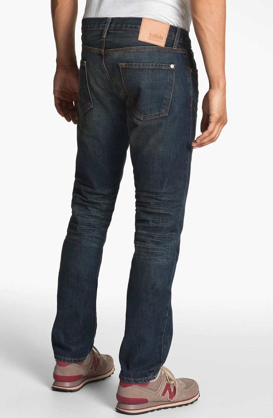 Alternate Image 1 Selected - Baldwin 'Henley' Slim Tapered Leg Selvedge Jeans (Joshua)