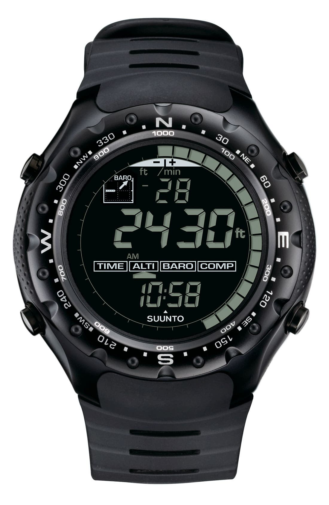 Alternate Image 1 Selected - Suunto 'X-Lander' Multifunction Rubber Strap Watch, 52mm