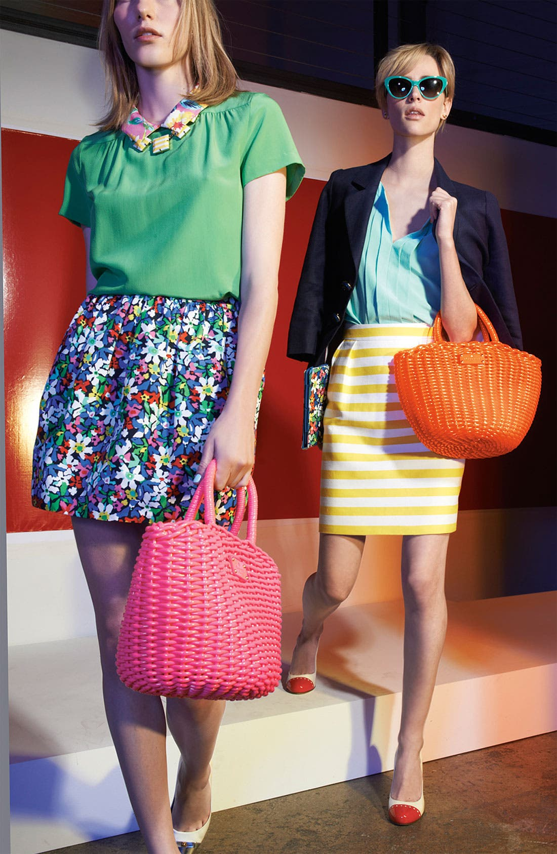 Alternate Image 7  - kate spade new york 'beach club - beth' tote