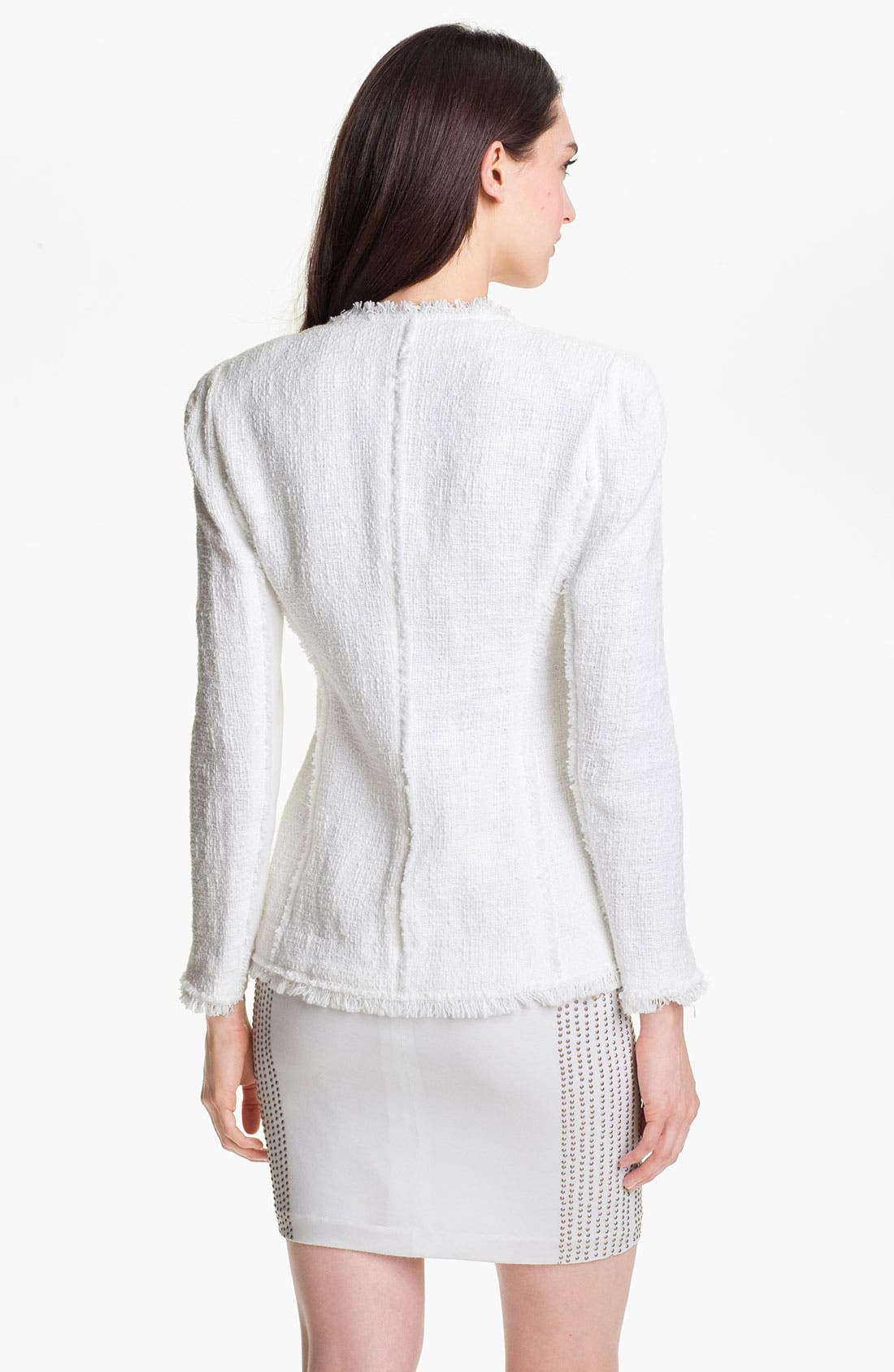 Alternate Image 2  - Rebecca Taylor Tweed Jacket
