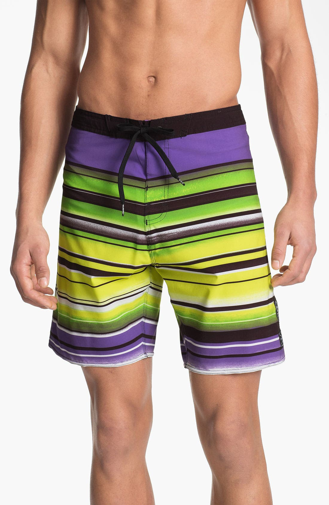 Alternate Image 1 Selected - Billabong 'Iconic Stripe' Board Shorts