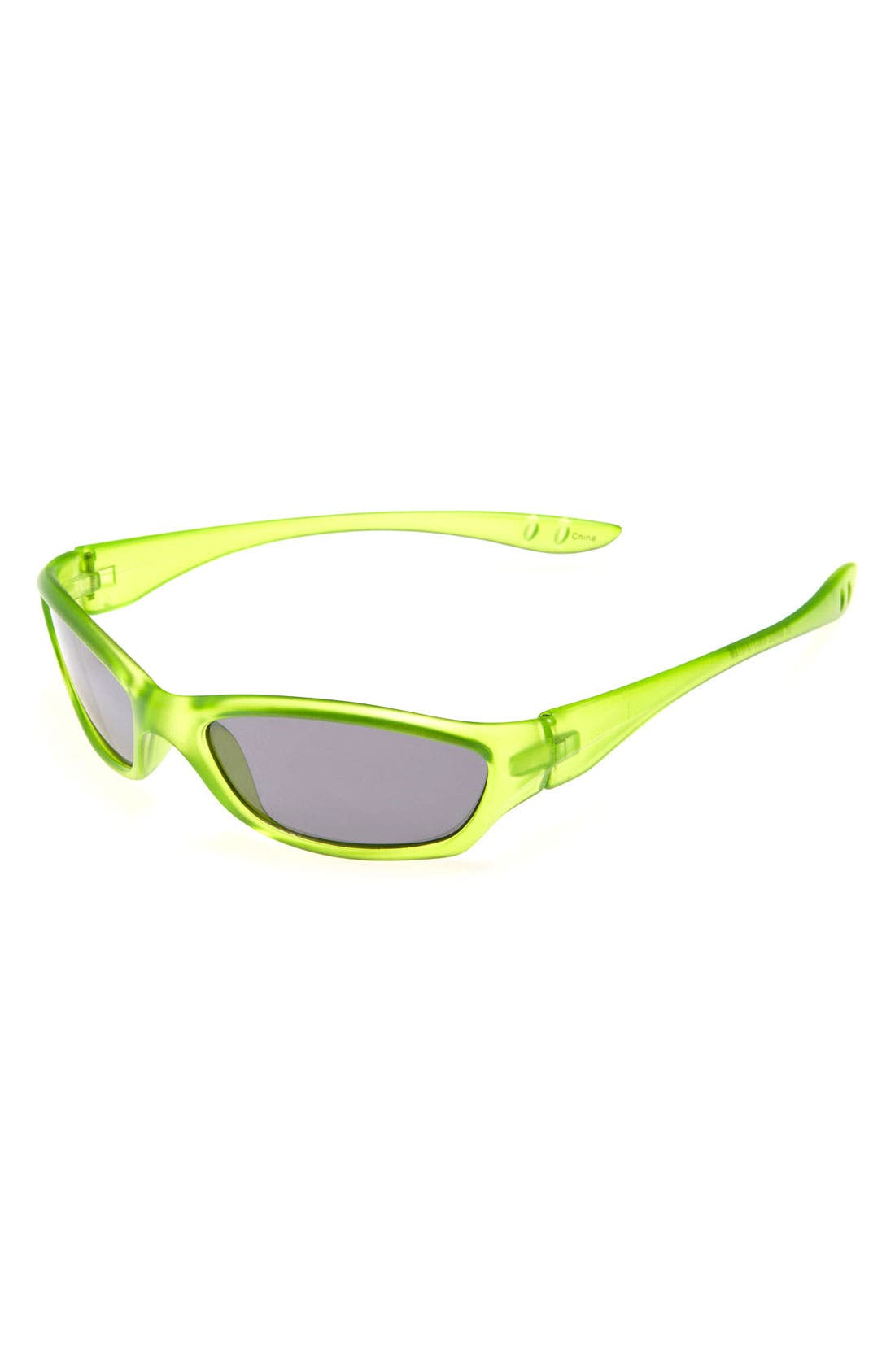 Alternate Image 1 Selected - Icon Eyewear Sport Wrap Sunglasses (Boys)