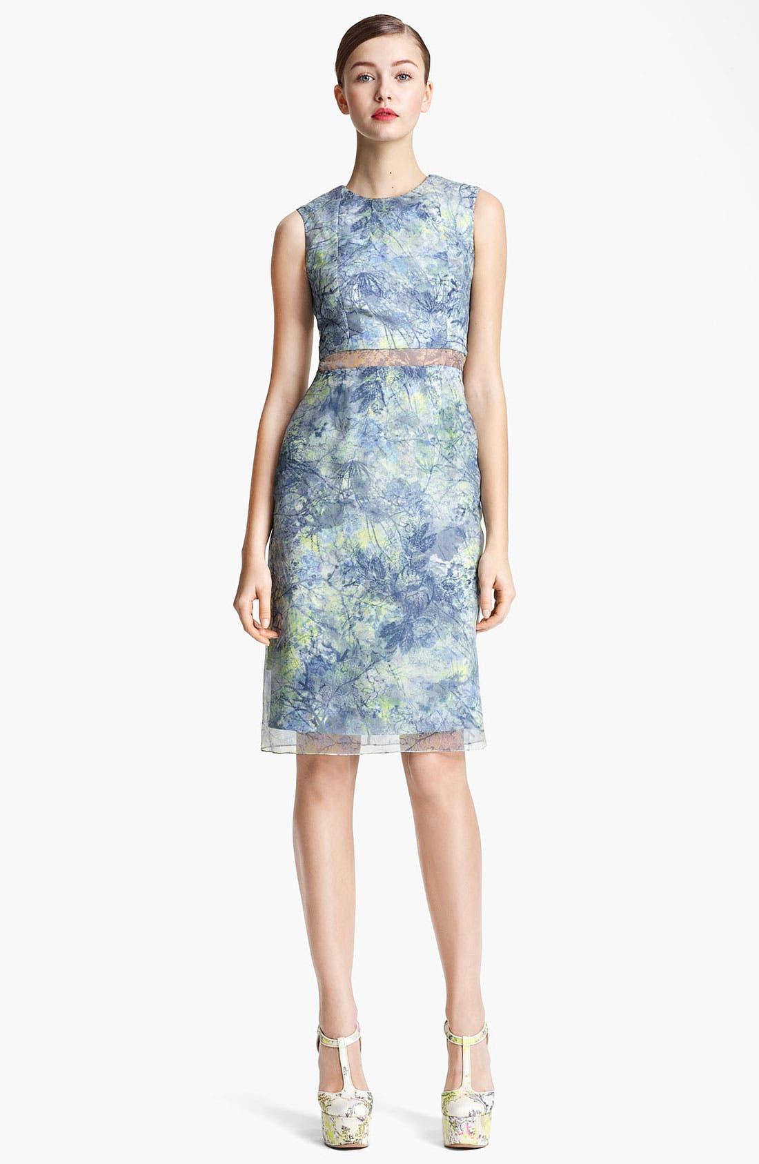 Alternate Image 1 Selected - Erdem 'Helena - Sache Print' Organza Dress