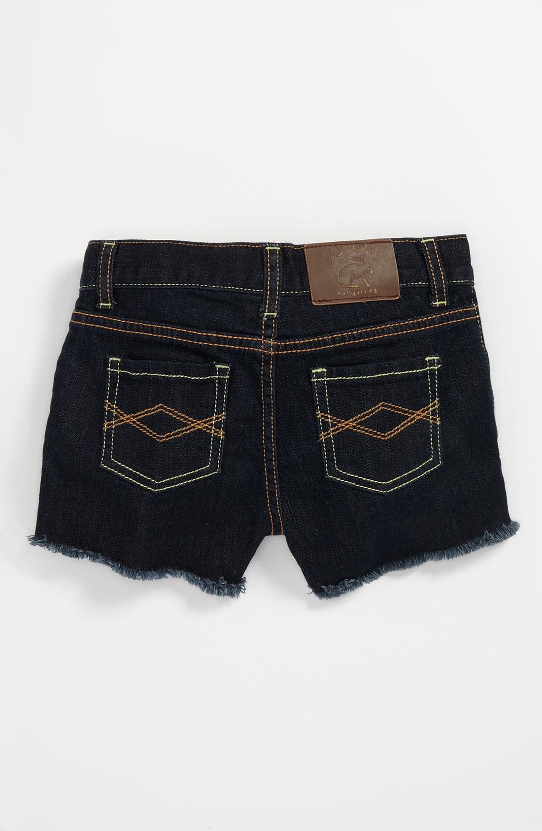 Alternate Image 1 Selected - Peek 'New Morgan' Denim Shorts (Big Girls)