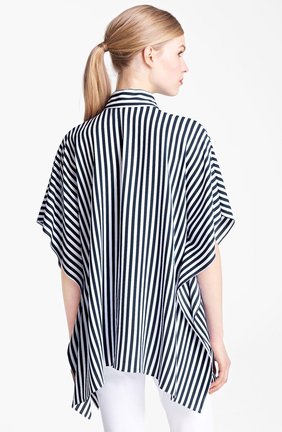 Alternate Image 2  - Michael Kors Kimono Sleeve Georgette Tunic Top
