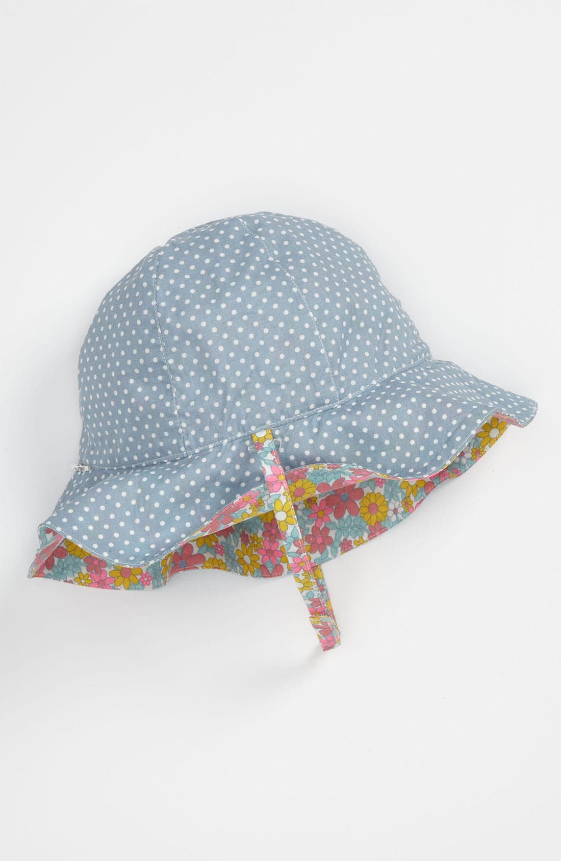 Alternate Image 2  - Nordstrom Baby Reversible Sun Hat (Infant)