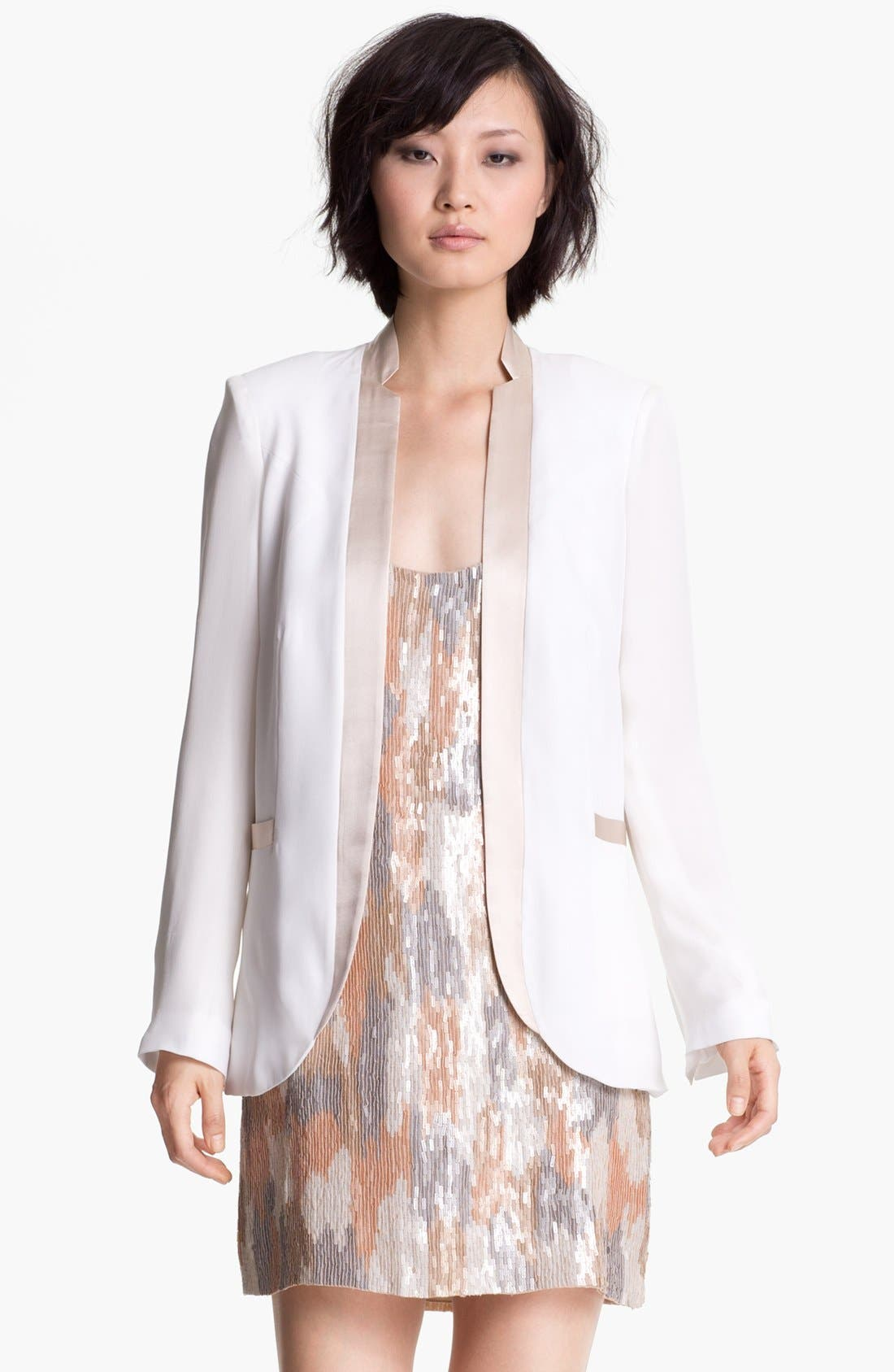 Alternate Image 1 Selected - Haute Hippie Notch Lapel Blazer