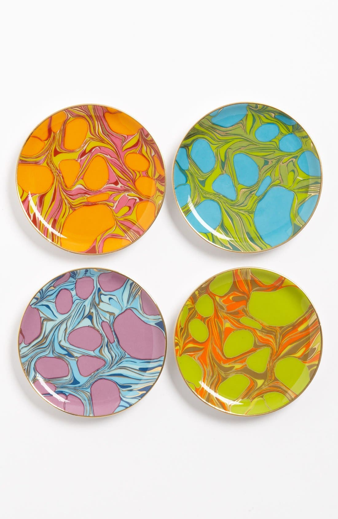 Main Image - Jonathan Adler 'Trousdale' Coasters (Set of 4)