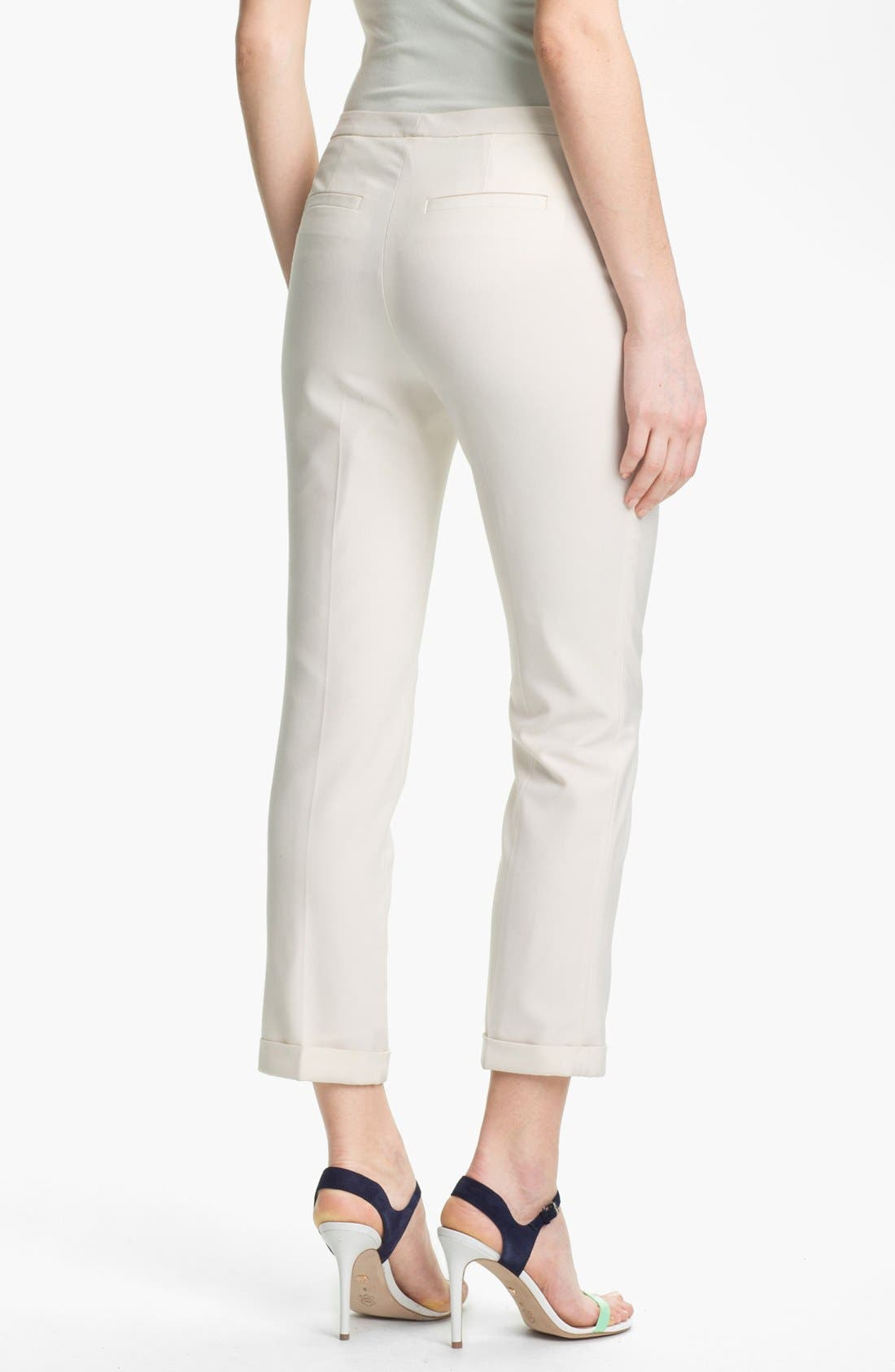 Alternate Image 2  - Vince Camuto Cuffed Skinny Ankle Pants