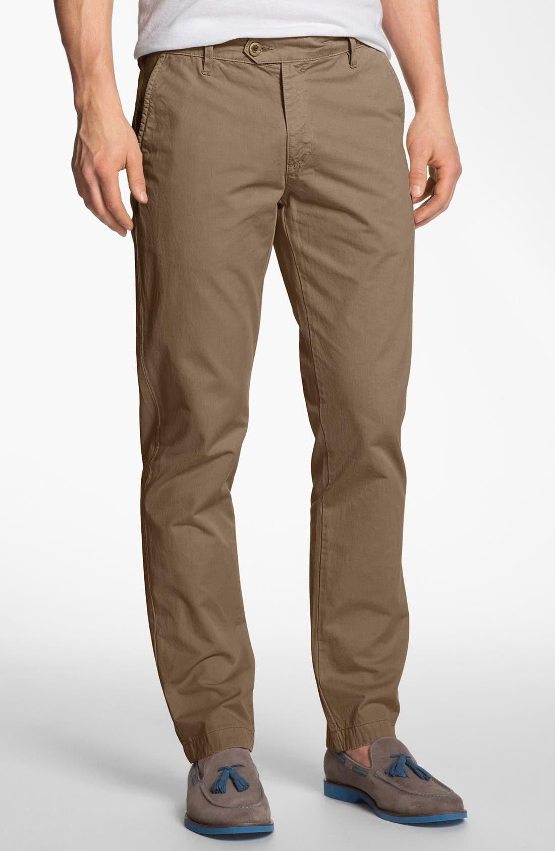 Alternate Image 1 Selected - Ted Baker London 'Albuss' Classic Fit Chinos