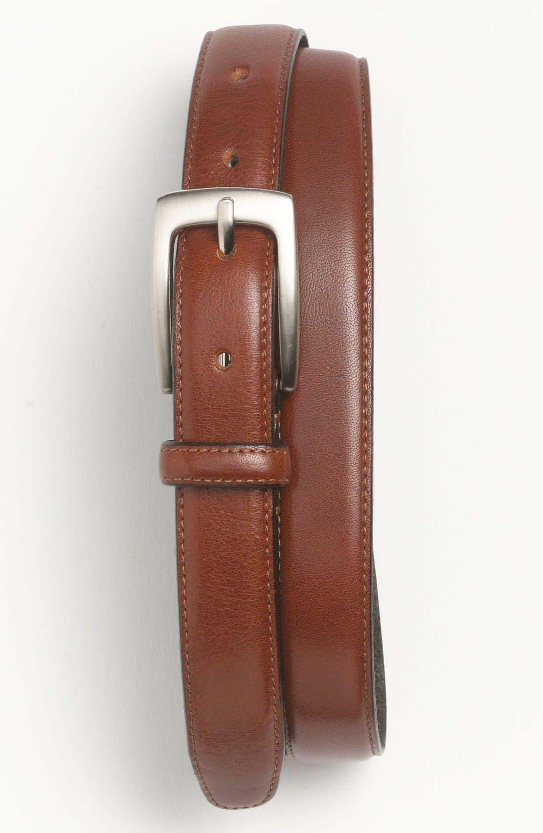 Alternate Image 1 Selected - Topman Leather Belt
