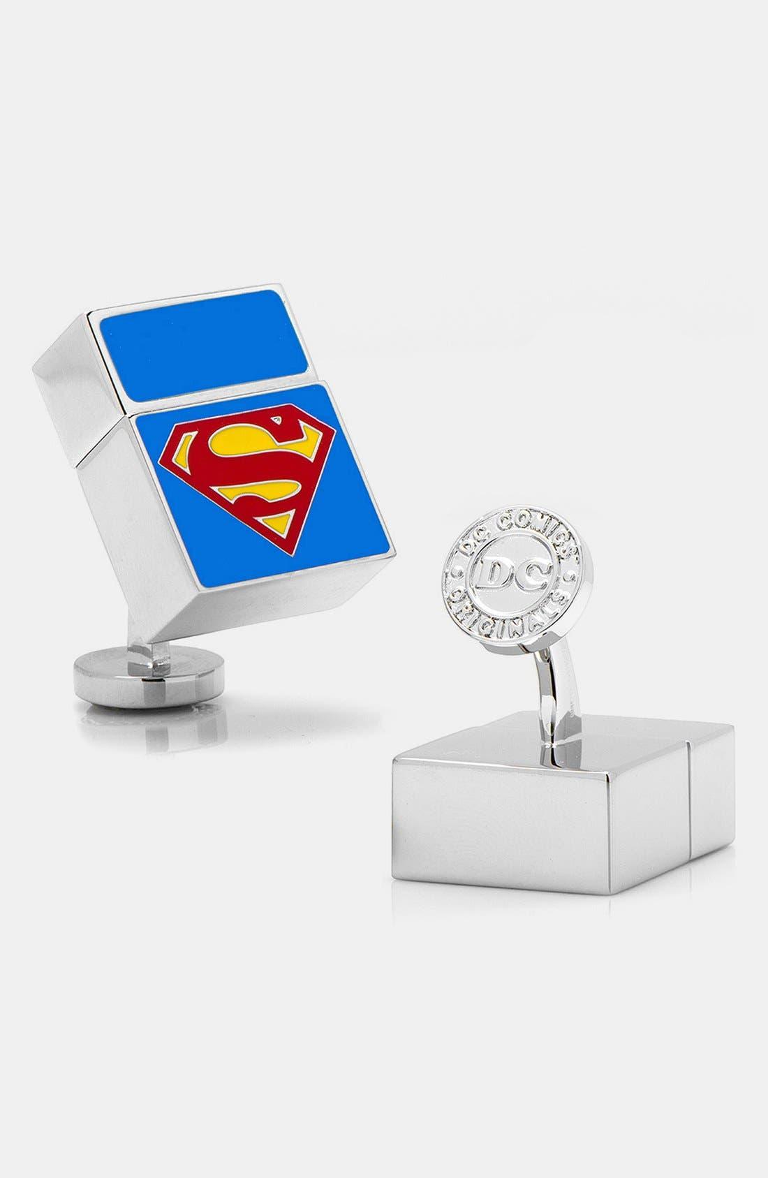 Alternate Image 1 Selected - Cufflinks, Inc. 'Superman' 4GB Flash Drive Cuff Links