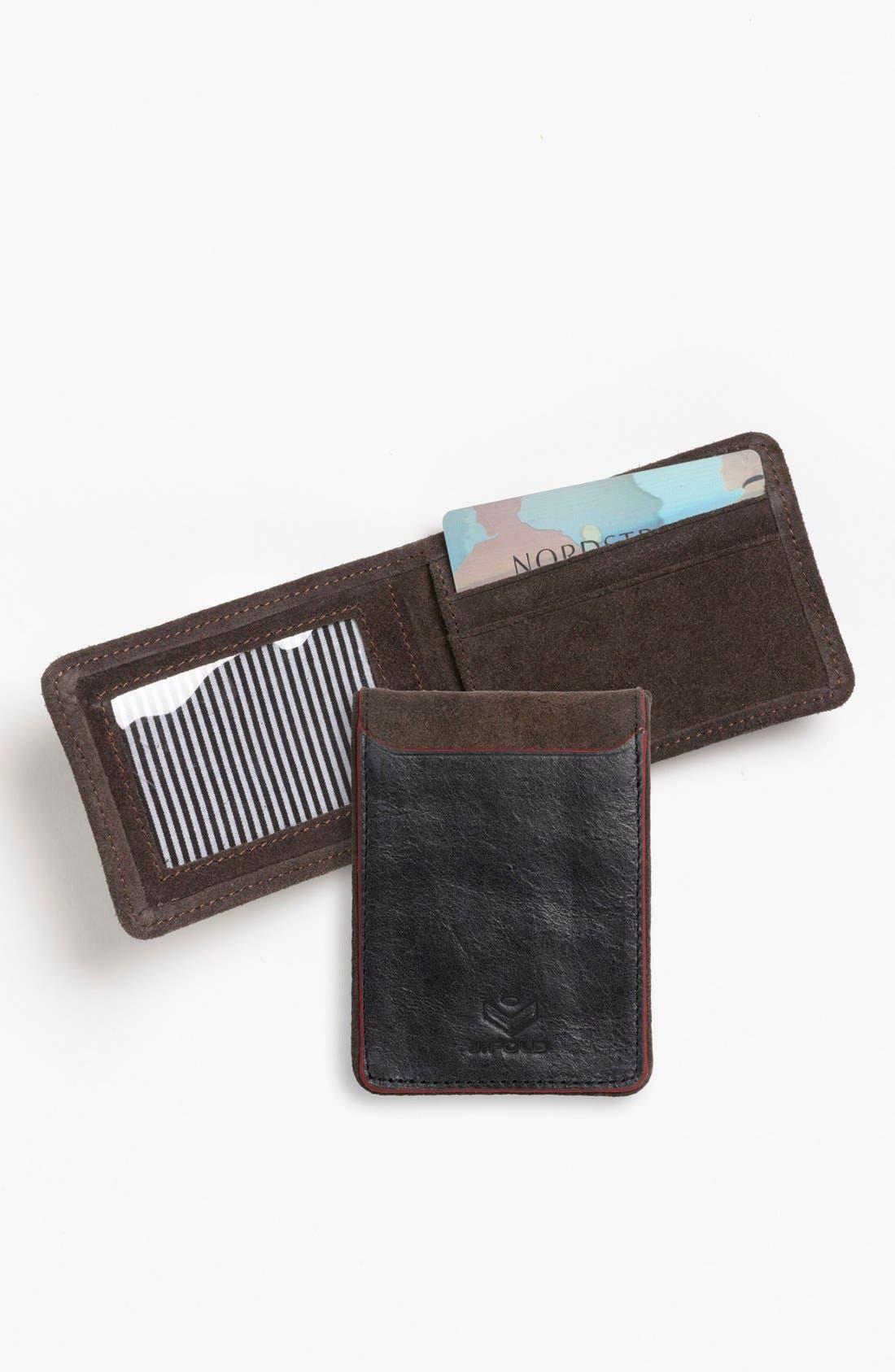 Main Image - J Fold 'Smokestack' Folding Card Holder