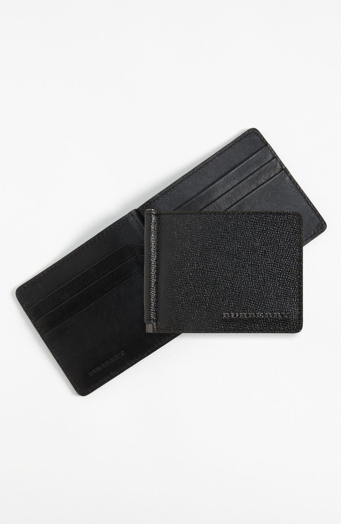 Alternate Image 1 Selected - Burberry 'Quillen' Wallet
