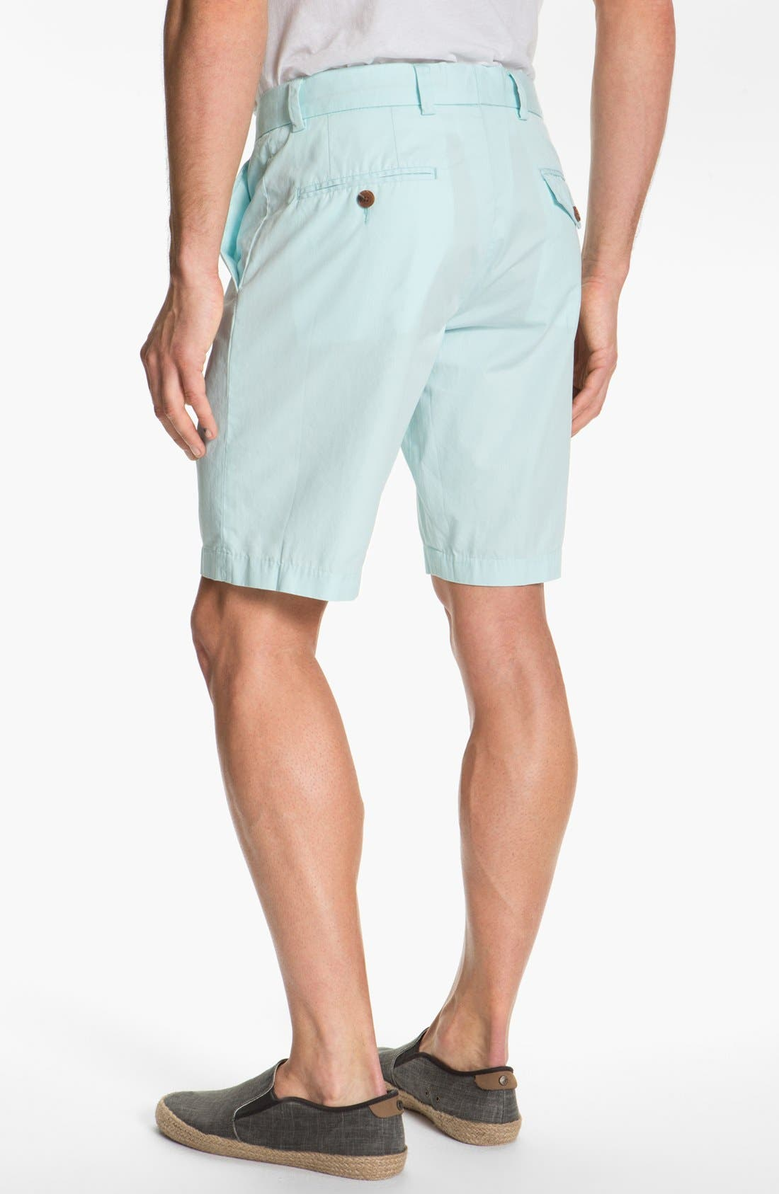 Alternate Image 2  - French Connection Peached Cotton Shorts