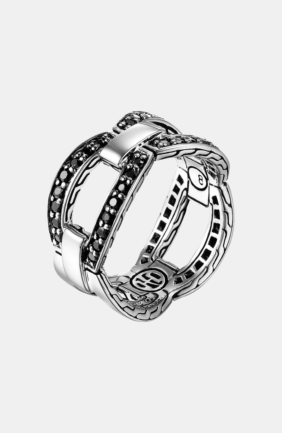 Alternate Image 1 Selected - John Hardy 'Classic Chain - Lava' Link Ring